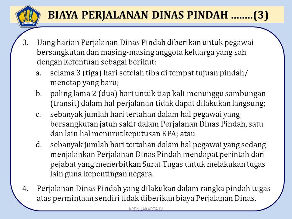 BIAYA PERJALANAN DINAS PINDAH ........(3)