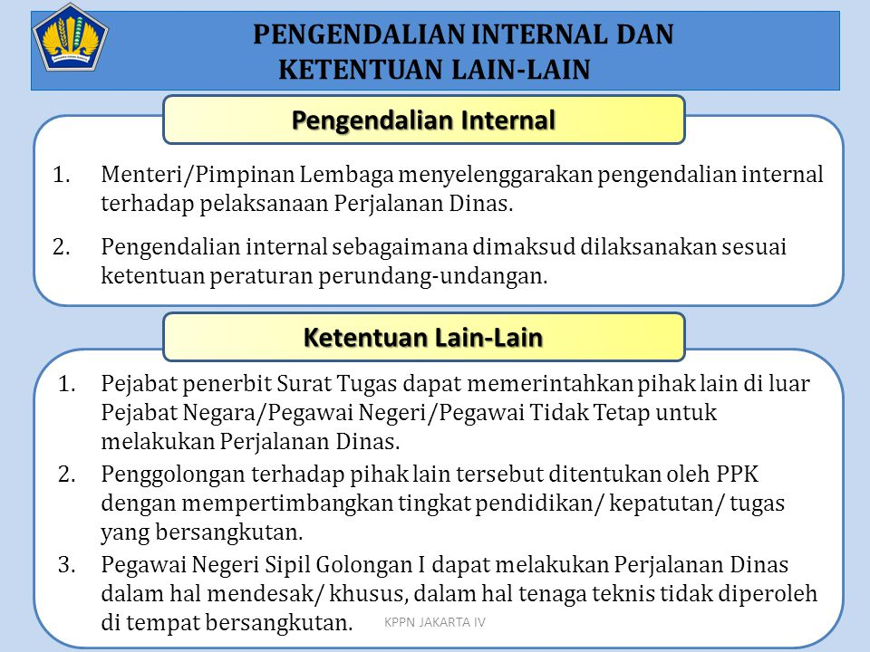 PENGENDALIAN INTERNAL DAN Pengendalian Internal