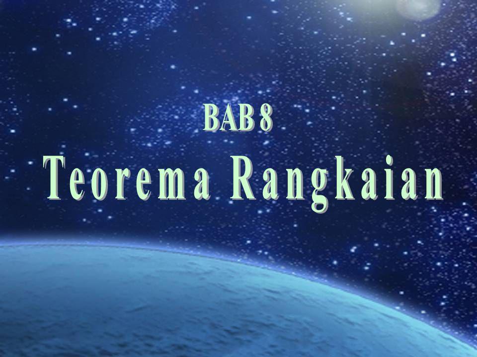 BAB 8 Teorema Rangkaian
