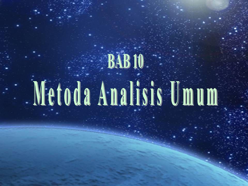 BAB 10 Metoda Analisis Umum