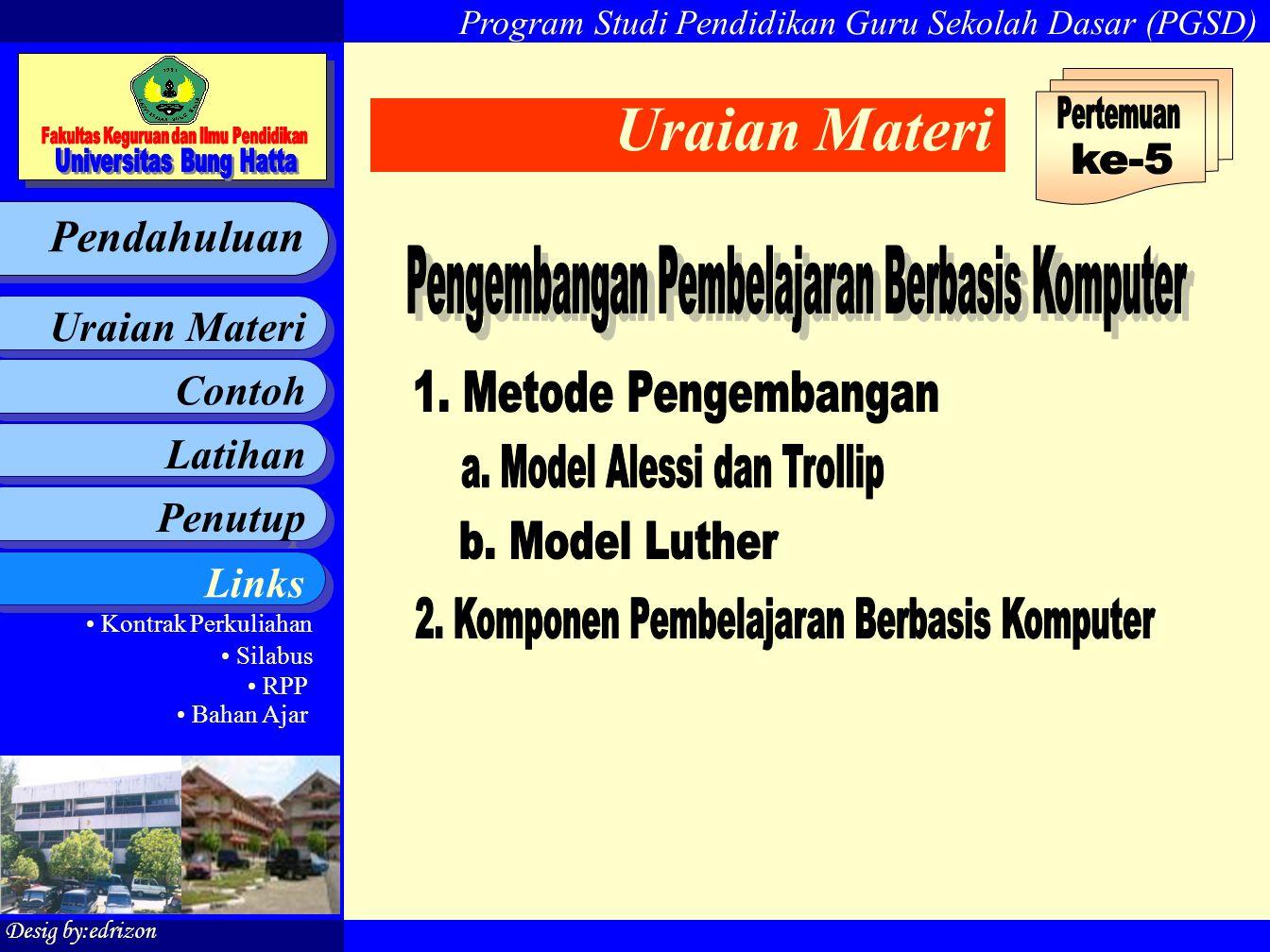 Uraian Materi Pertemuan ke-5