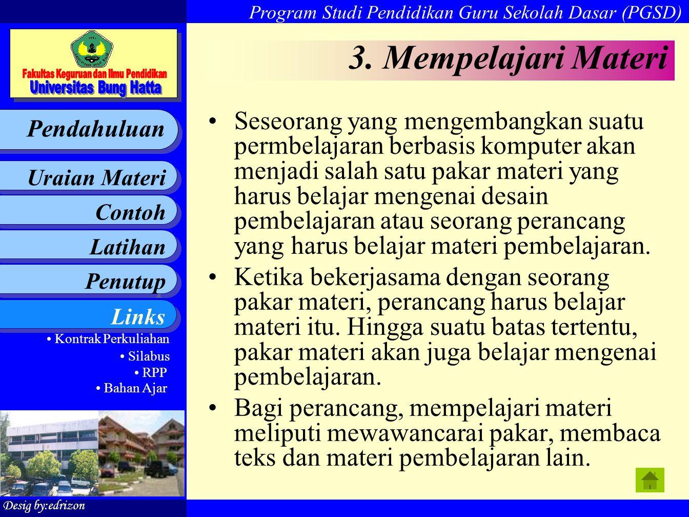 3. Mempelajari Materi