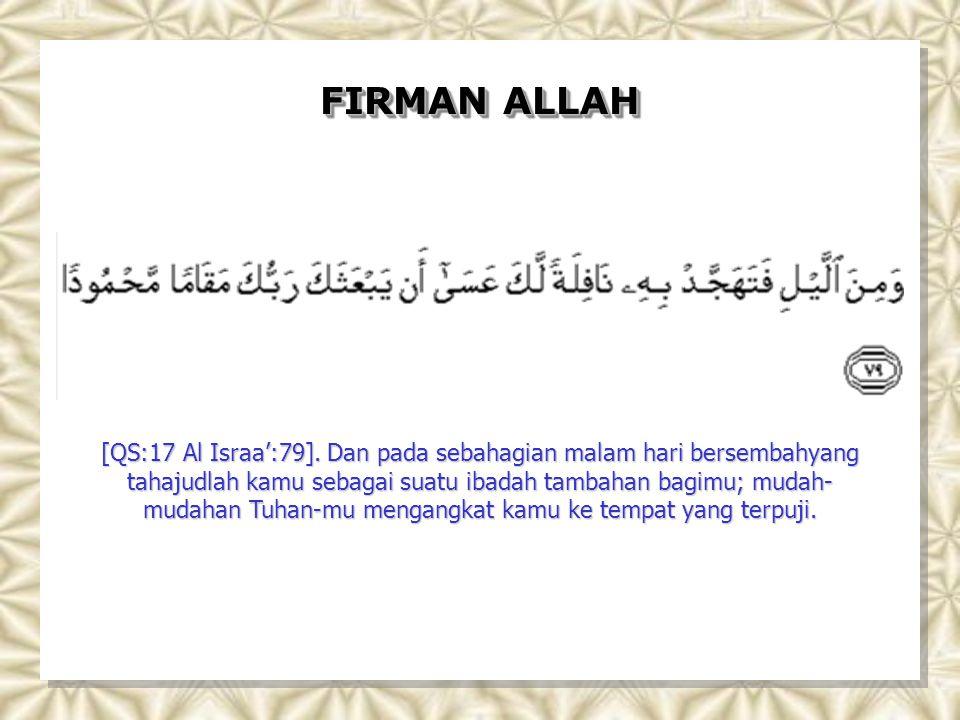 FIRMAN ALLAH