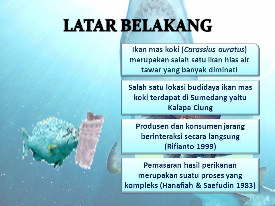 LATAR BELAKANG Ikan mas koki (Carassius auratus) merupakan salah satu ikan hias air tawar yang banyak diminati.