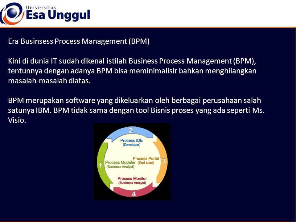 Era Businsess Process Management (BPM)