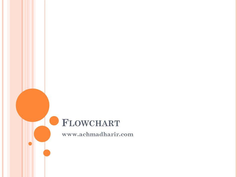 Flowchart www.achmadharir.com