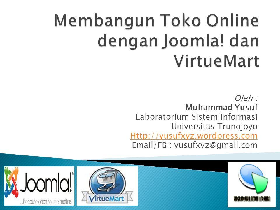 Membangun Toko Online dengan Joomla! dan VirtueMart