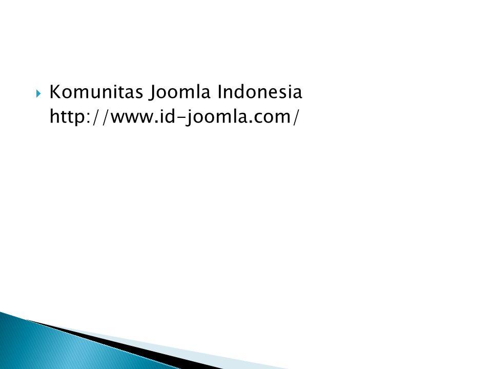 Komunitas Joomla Indonesia