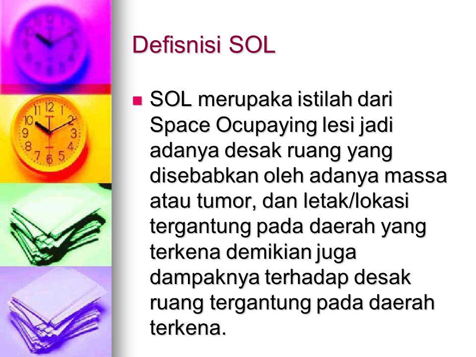Defisnisi SOL