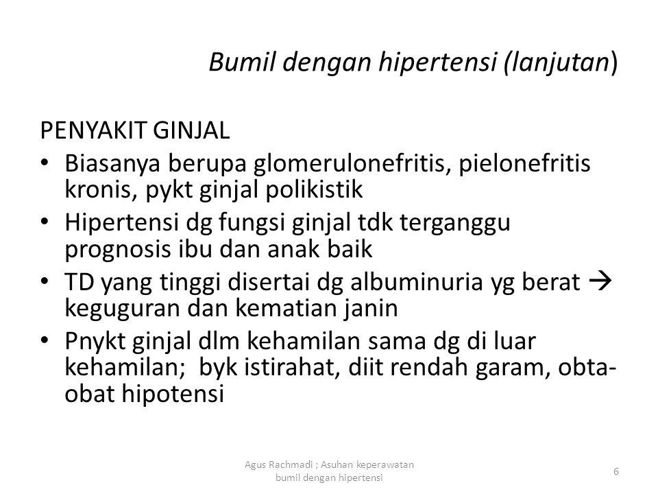 Bumil dengan hipertensi (lanjutan)