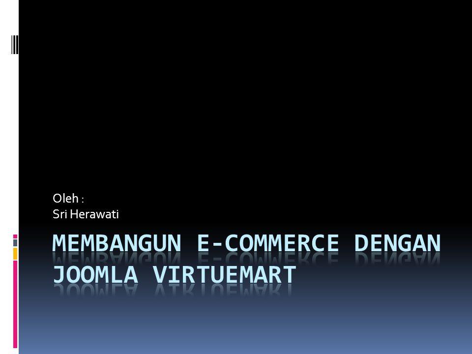 Membangun E-Commerce dengan Joomla Virtuemart