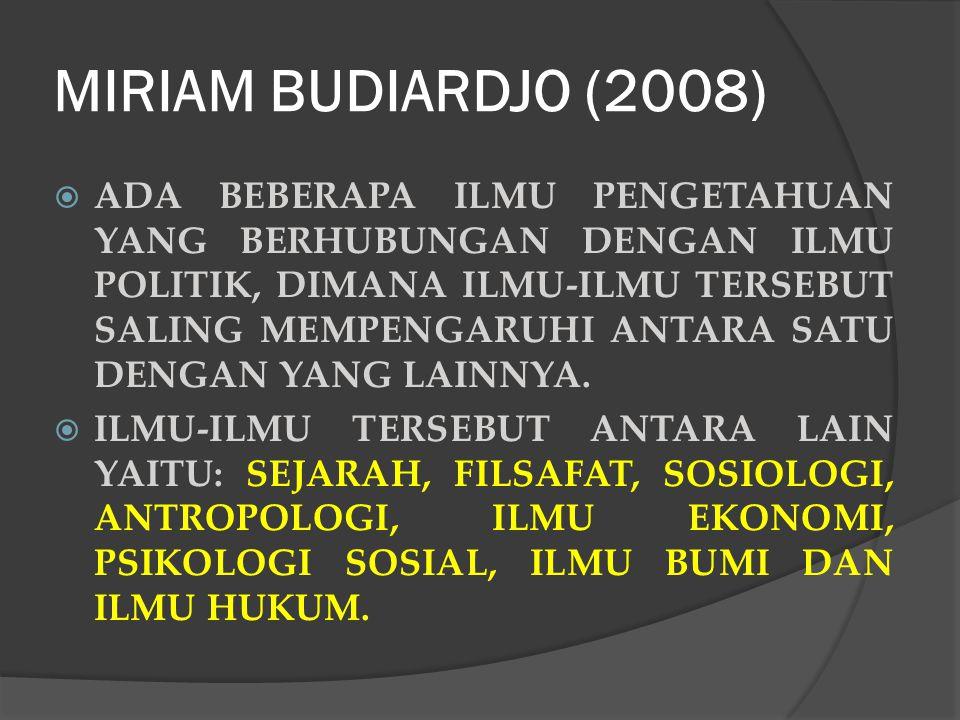 MIRIAM BUDIARDJO (2008)
