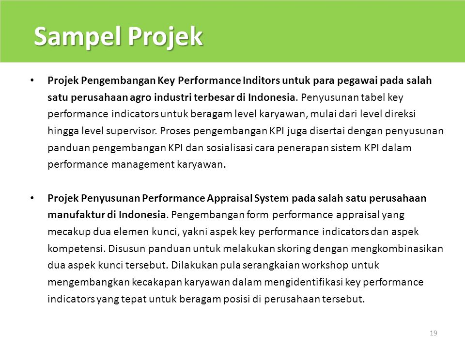 Sampel Projek