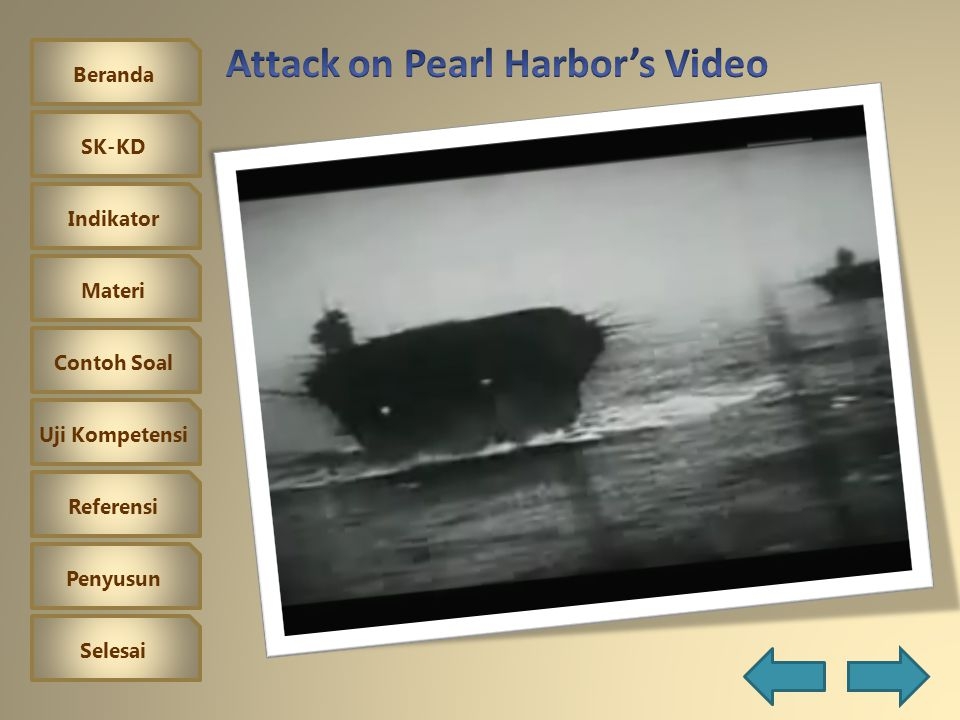 Attack on Pearl Harbor's Video