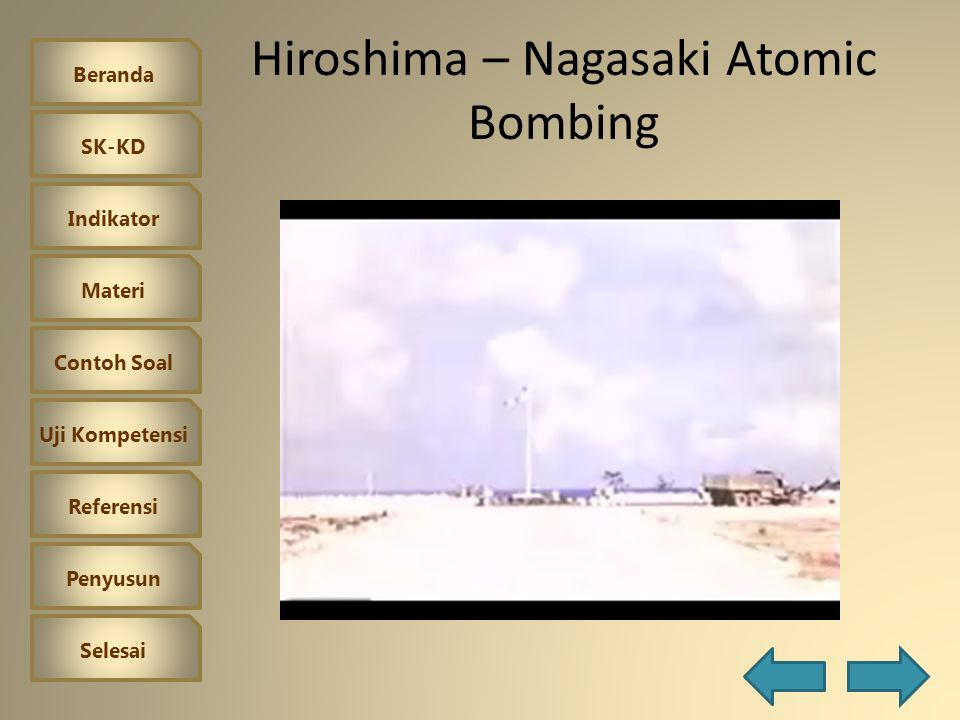 Hiroshima – Nagasaki Atomic Bombing