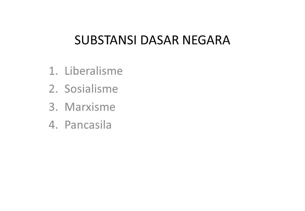 SUBSTANSI DASAR NEGARA