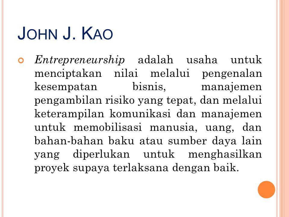 John J. Kao