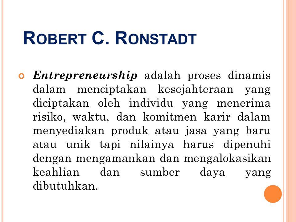 Robert C. Ronstadt