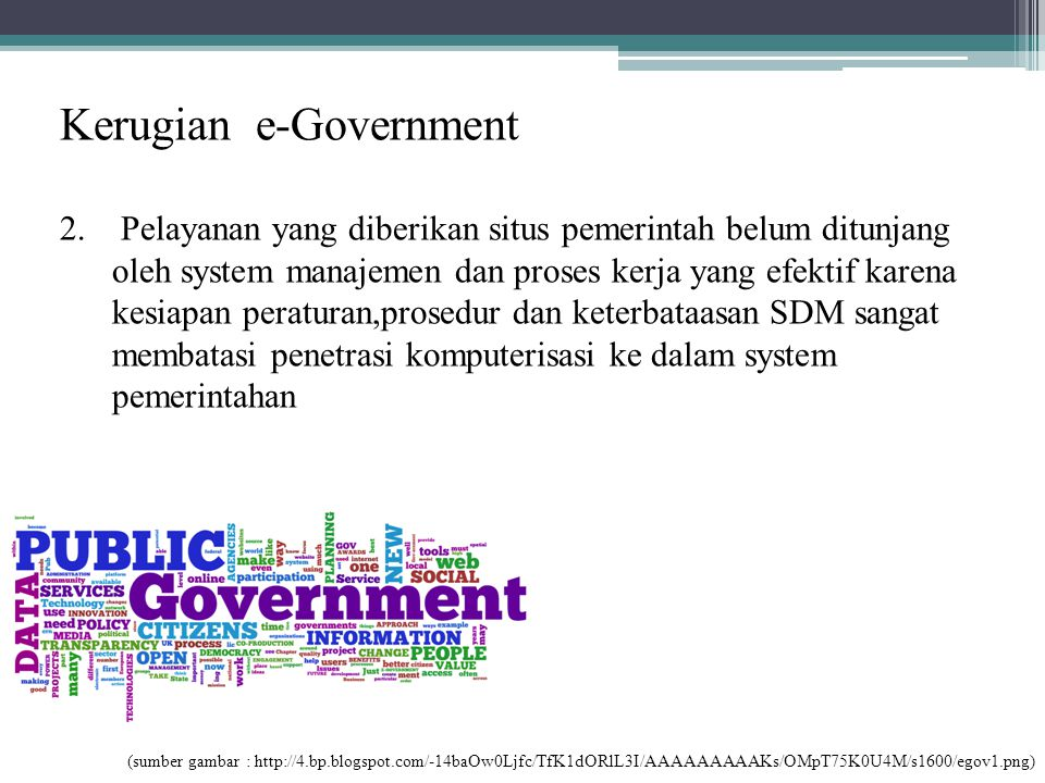 Kerugian e-Government