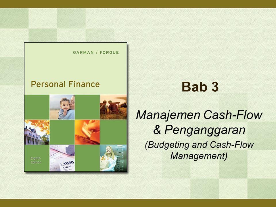 Bab 3 Manajemen Cash-Flow & Penganggaran