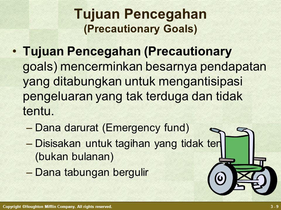 Tujuan Pencegahan (Precautionary Goals)