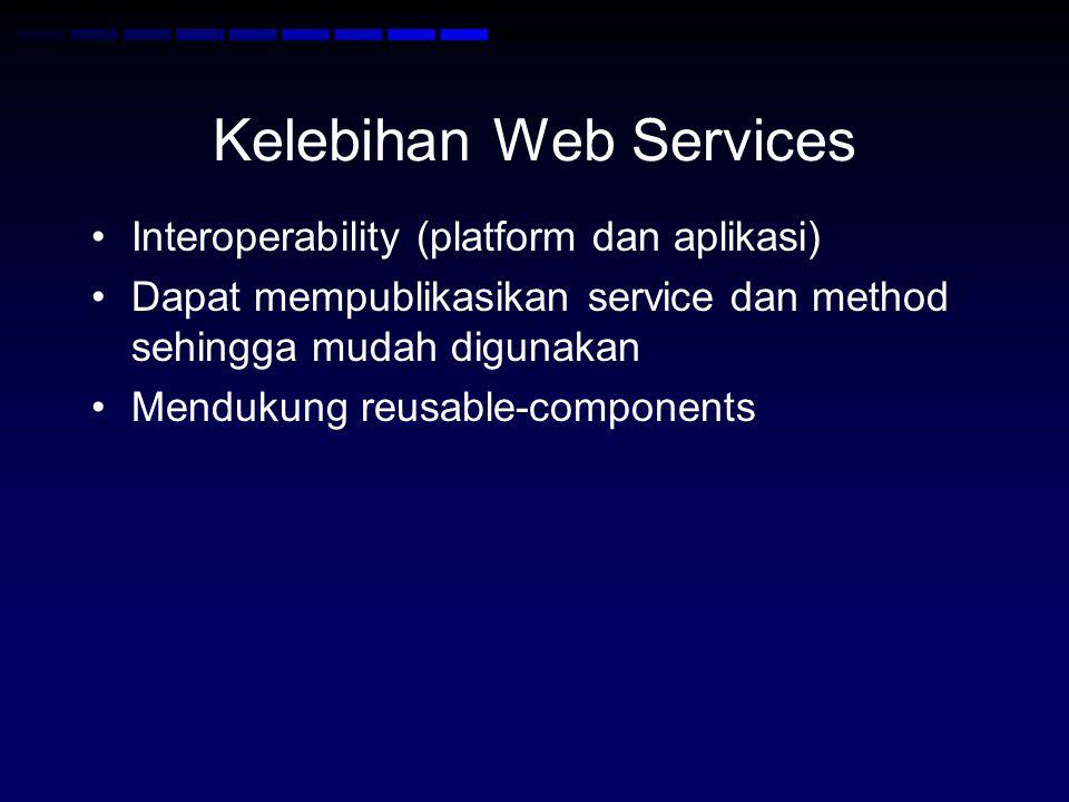 Kelebihan Web Services