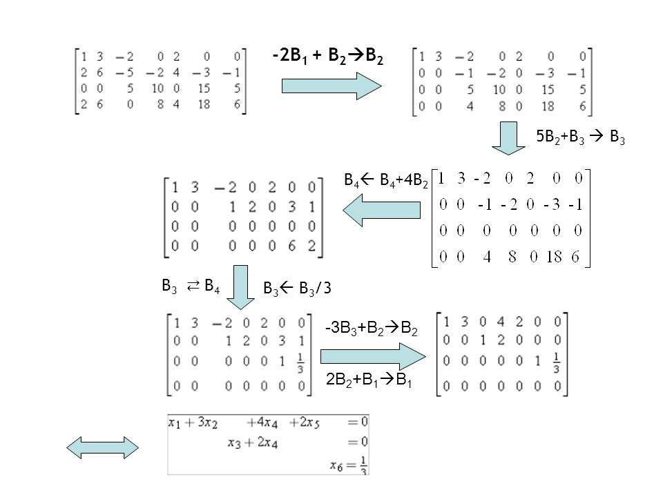 -2B1 + B2B2 5B2+B3  B3 B4 B4+4B2 B3 ⇄ B4 B3 B3/3 -3B3+B2B2