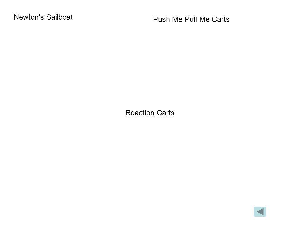 Newton s Sailboat Push Me Pull Me Carts Reaction Carts