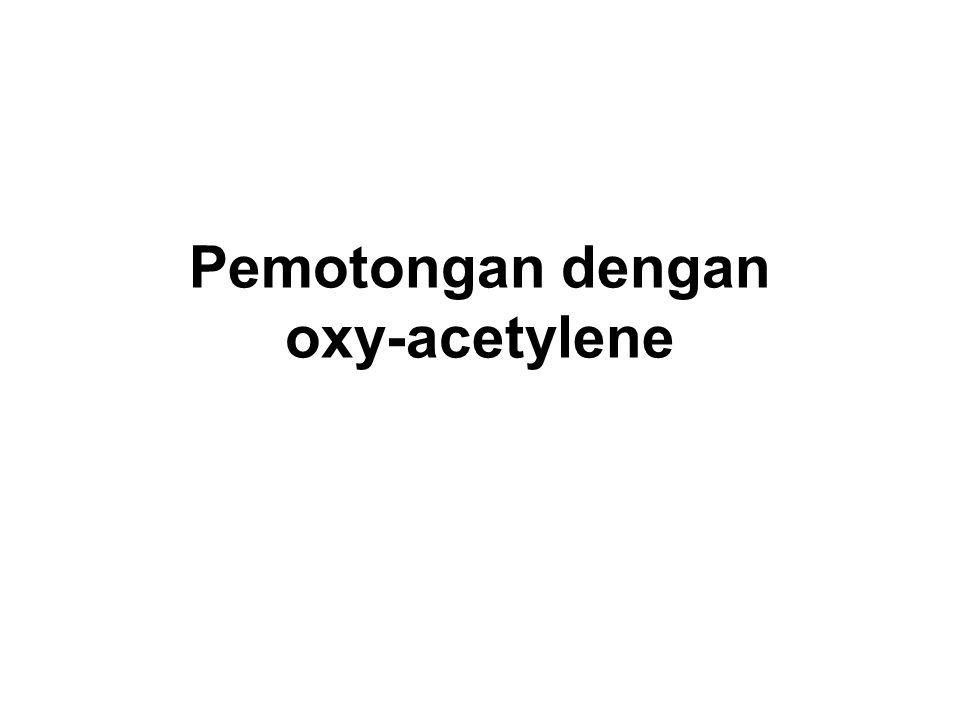Pemotongan dengan oxy-acetylene