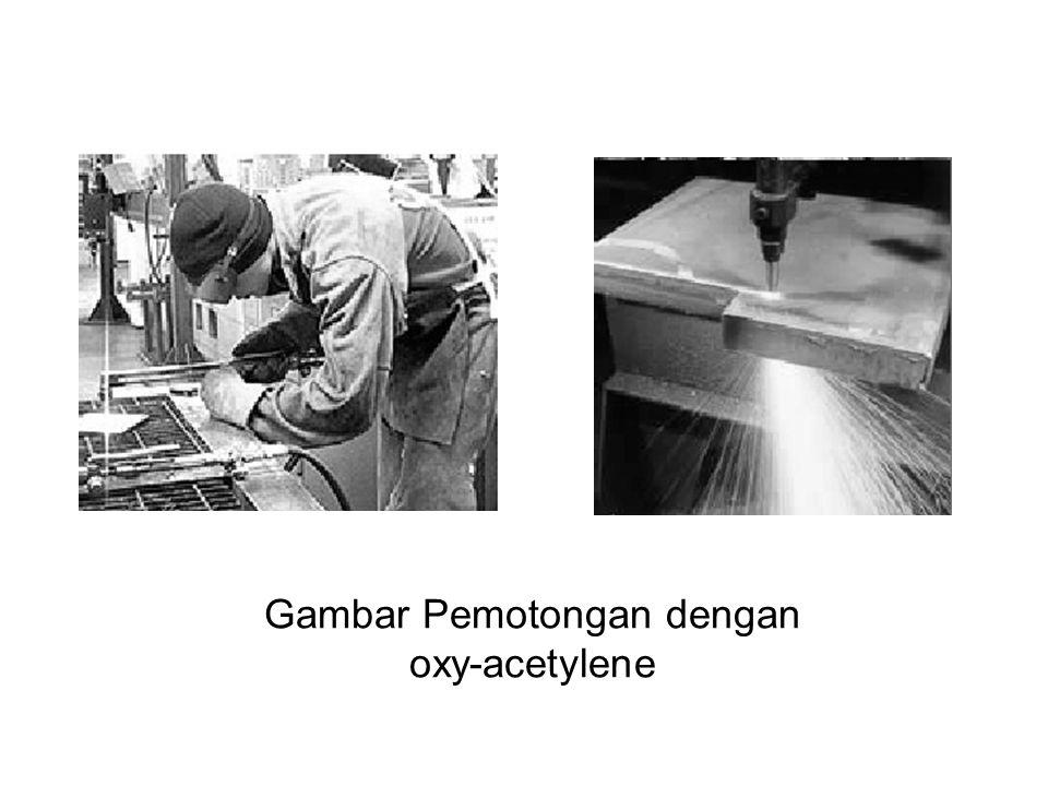 Gambar Pemotongan dengan oxy-acetylene