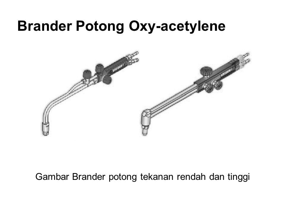 Brander Potong Oxy-acetylene