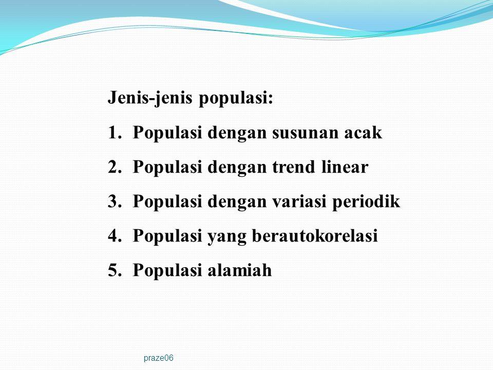 Jenis-jenis populasi: Populasi dengan susunan acak