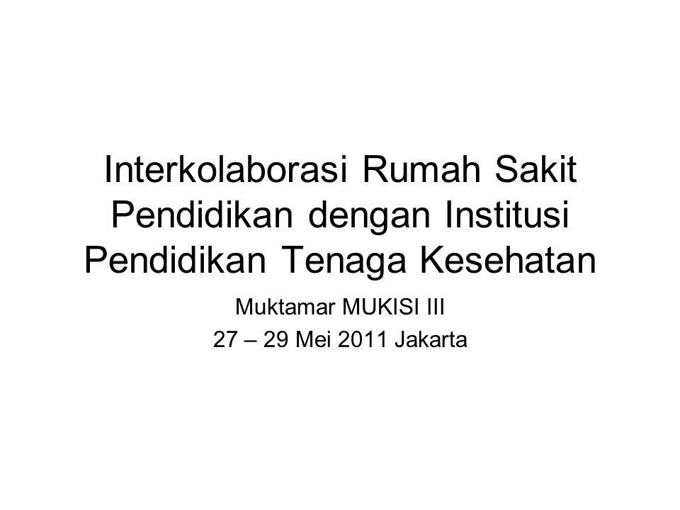 Muktamar MUKISI III 27 – 29 Mei 2011 Jakarta