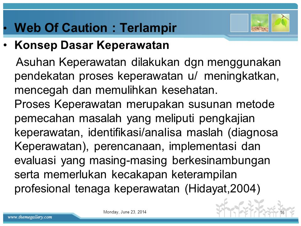 Web Of Caution : Terlampir
