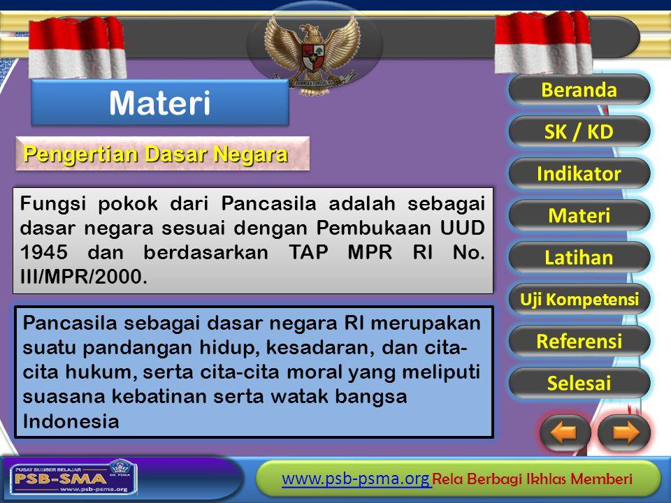 Materi Pengertian Dasar Negara