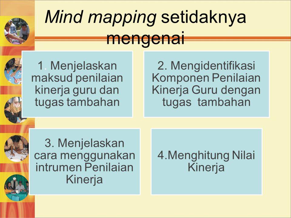 Mind mapping setidaknya mengenai