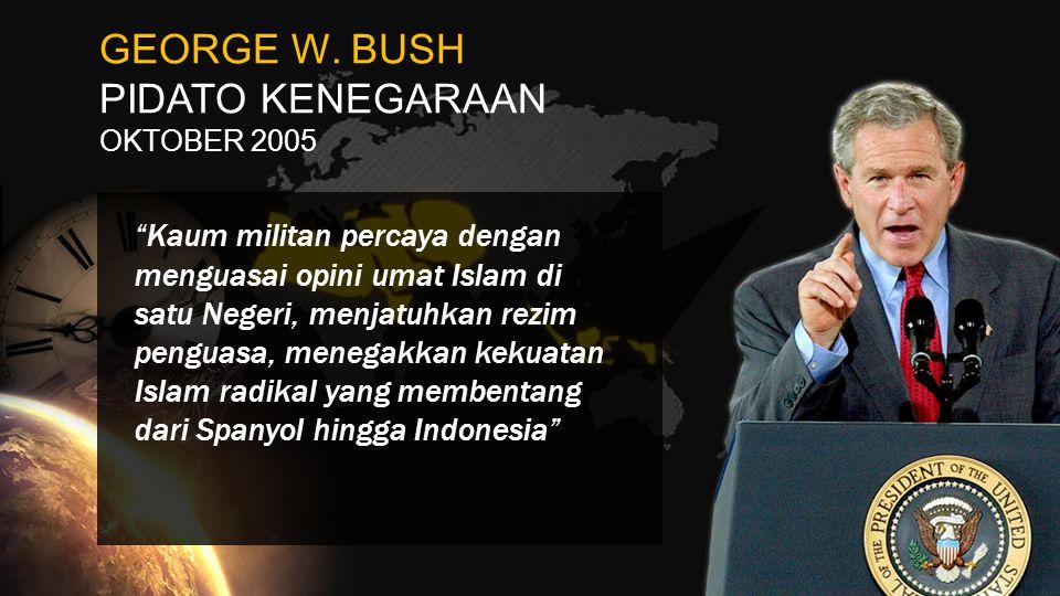 GEORGE W. BUSH PIDATO KENEGARAAN