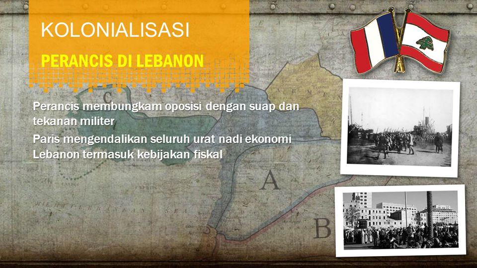 KOLONIALISASI PERANCIS DI LEBANON