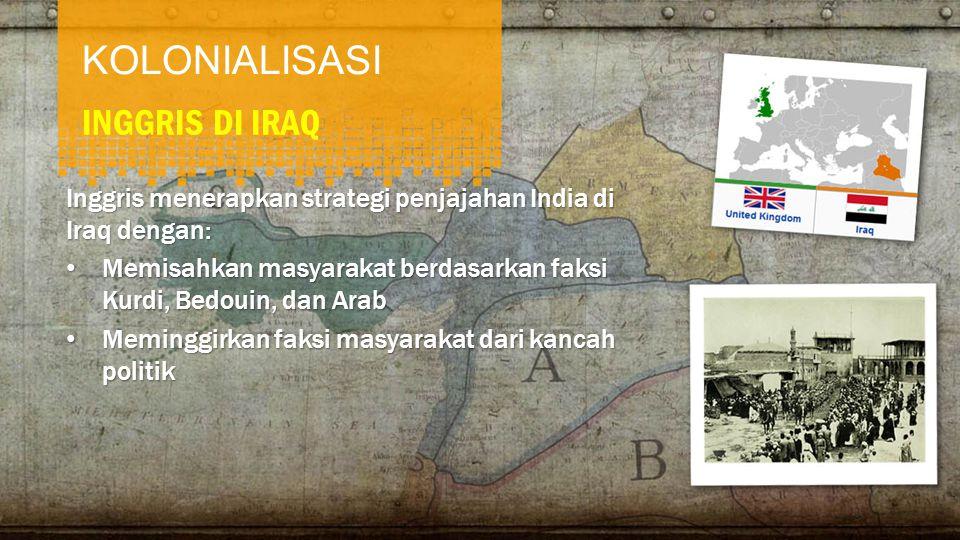 KOLONIALISASI INGGRIS DI IRAQ