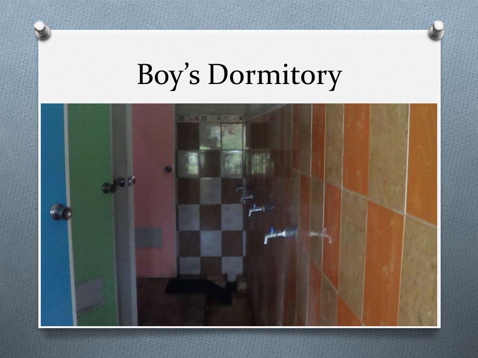 Boy's Dormitory