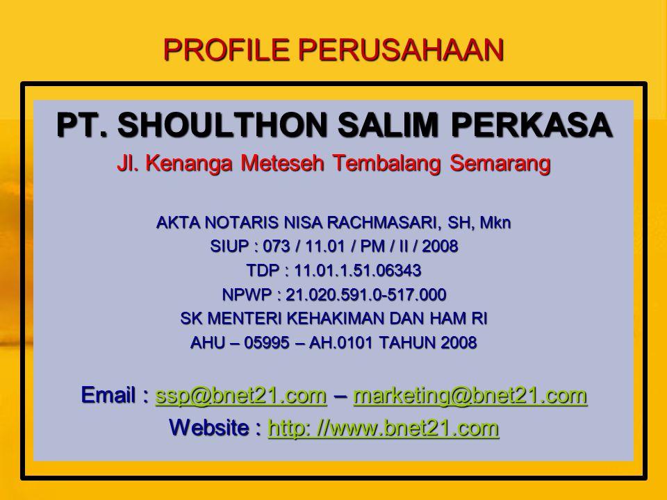 PT. SHOULTHON SALIM PERKASA