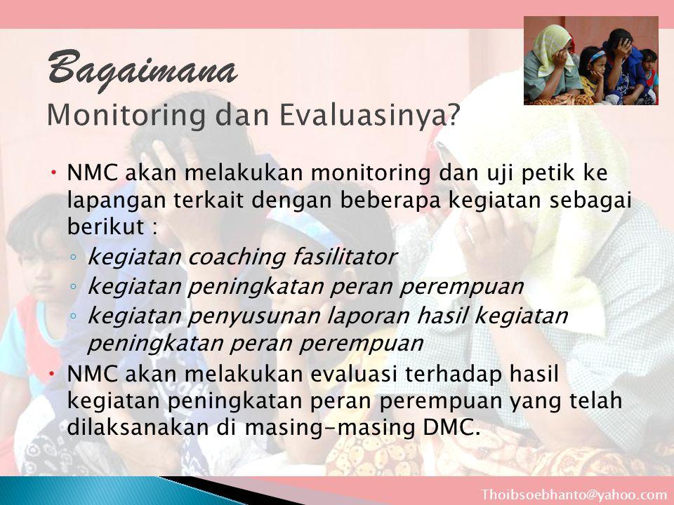 Bagaimana Monitoring dan Evaluasinya