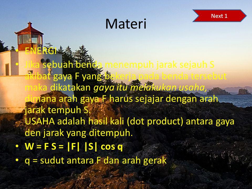 Materi Next 1. ENERGI.