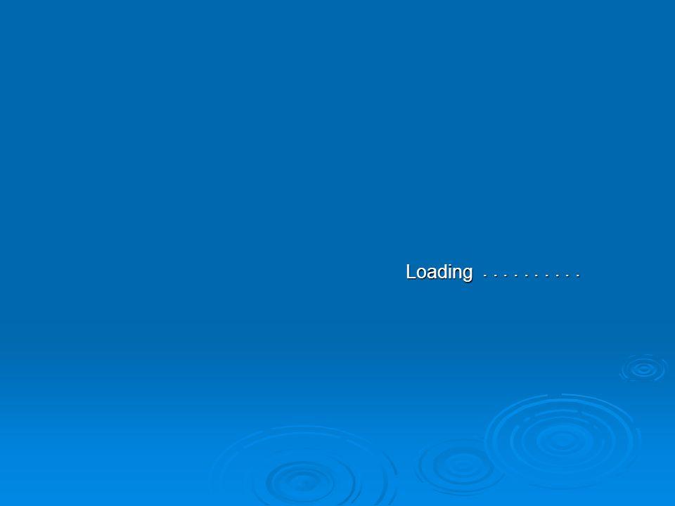 Loading . . . . . . . . . .