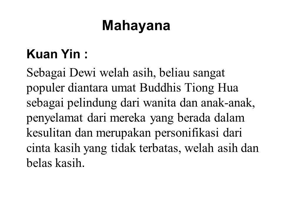 Mahayana Kuan Yin :