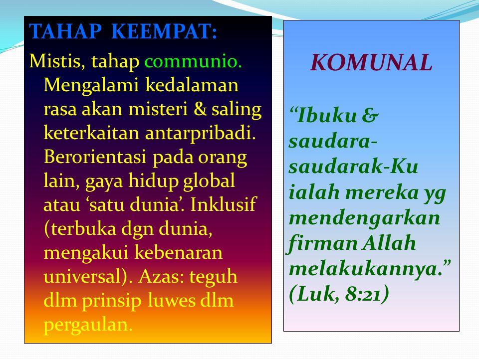 KOMUNAL TAHAP KEEMPAT: