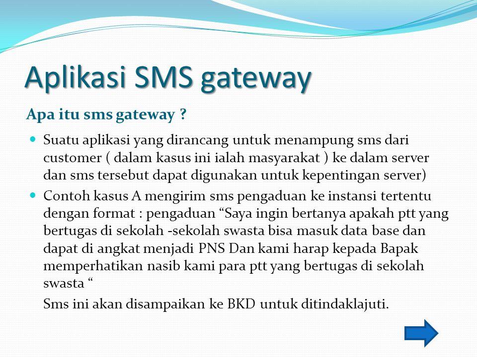 Aplikasi SMS gateway Apa itu sms gateway