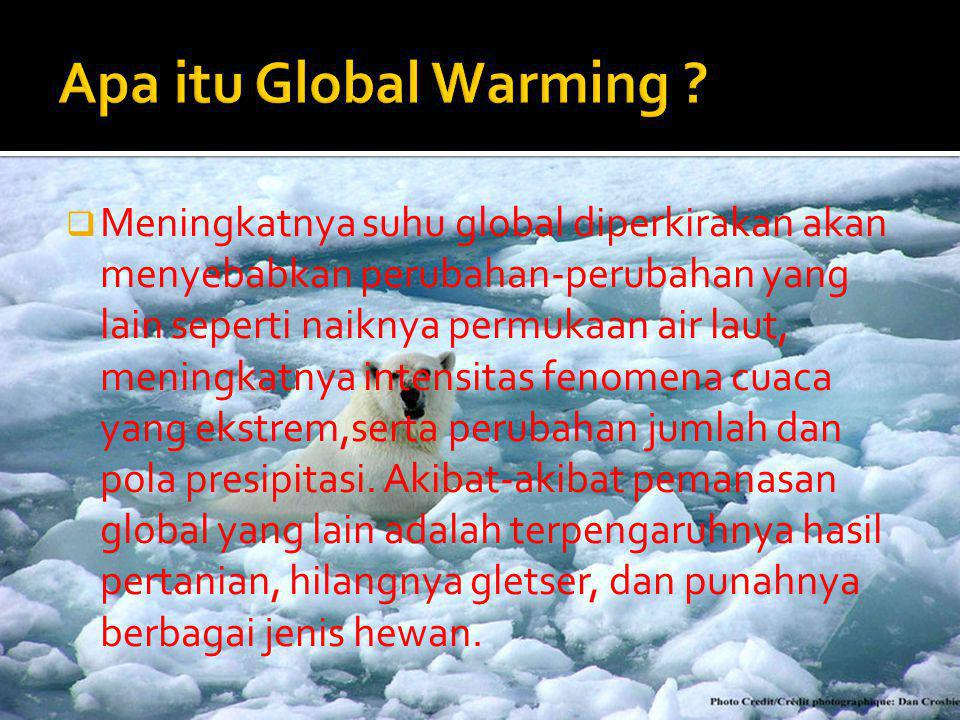 Apa itu Global Warming