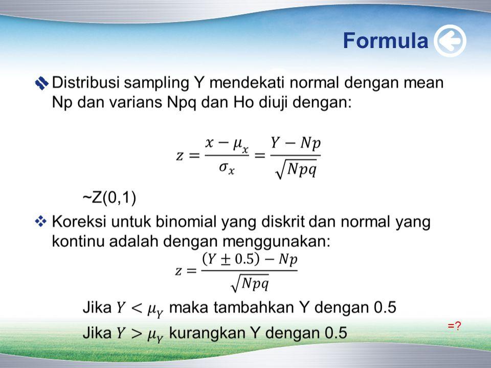 Formula =