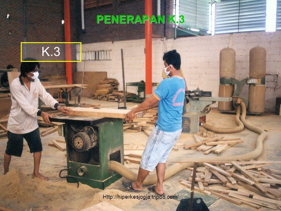 K.3 PENERAPAN K.3 Peningkatan Produksi & Produktivitas